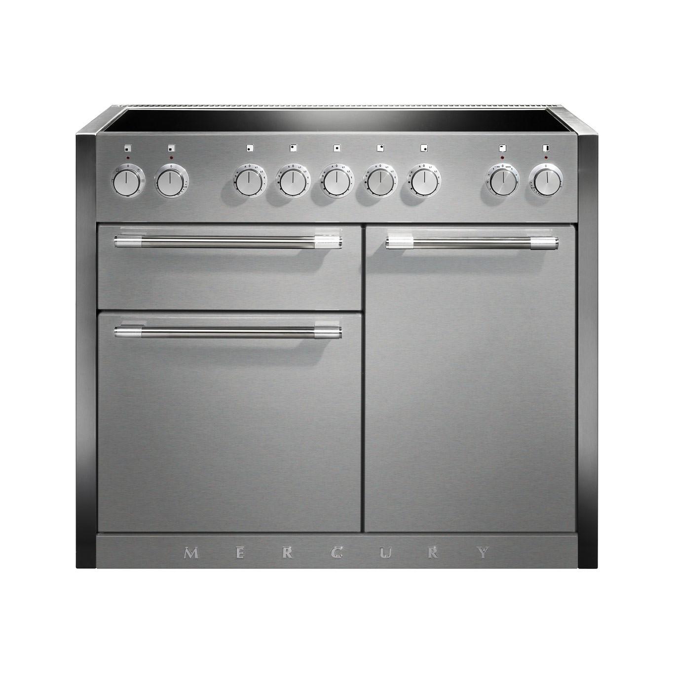 Mercury MCY1082EI Induction Stainless Steel Range Cooker