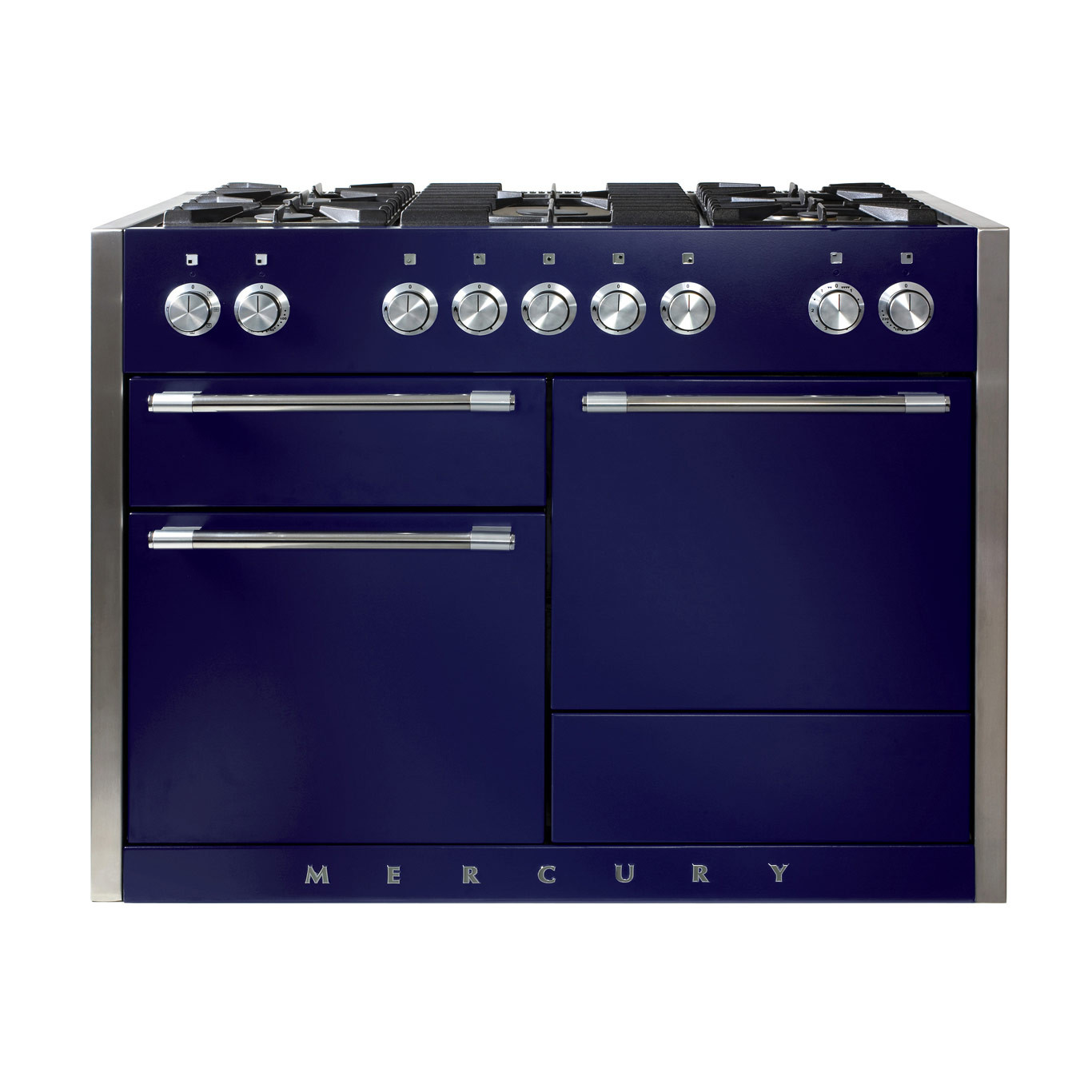 Mercury MCY1200DF Dual Fuel Blueberry Range Cooker