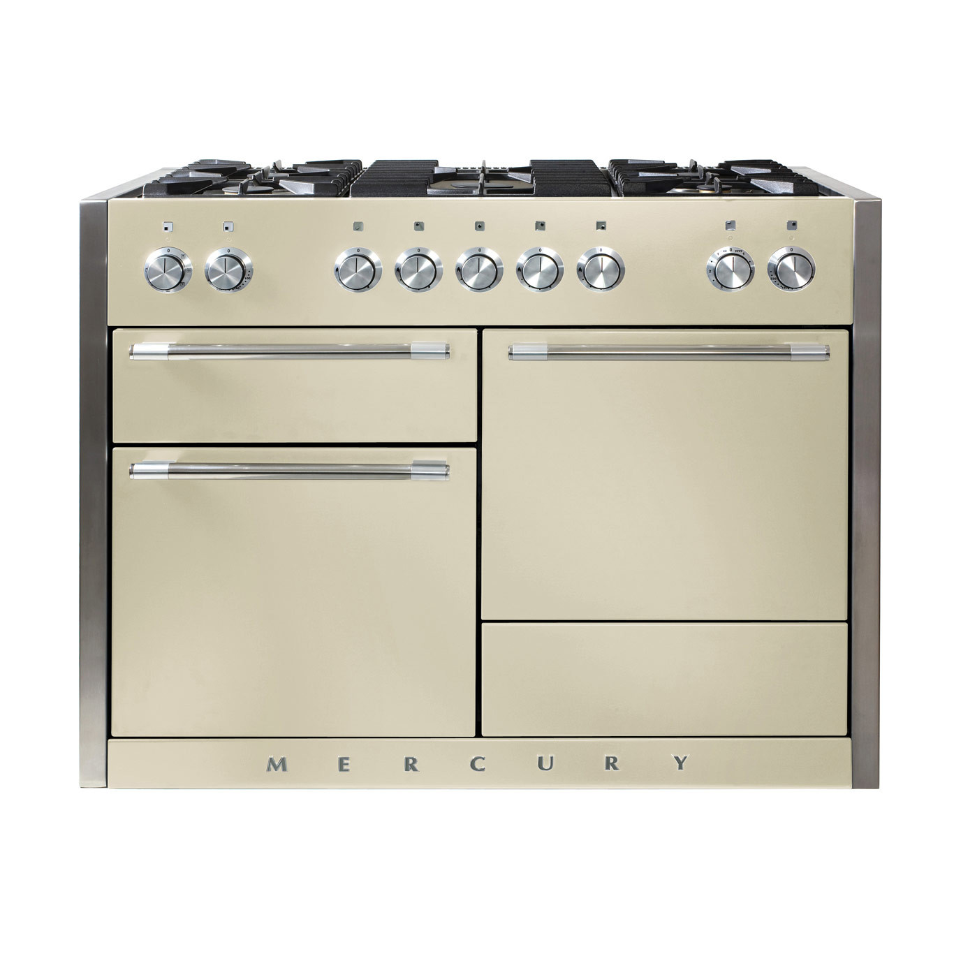 Mercury MCY1200DF Dual Fuel Oyster Range Cooker
