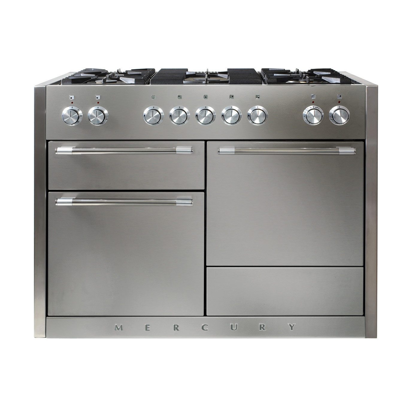 Mercury MCY1200DF Dual Fuel Stainless Steel Range Cooker