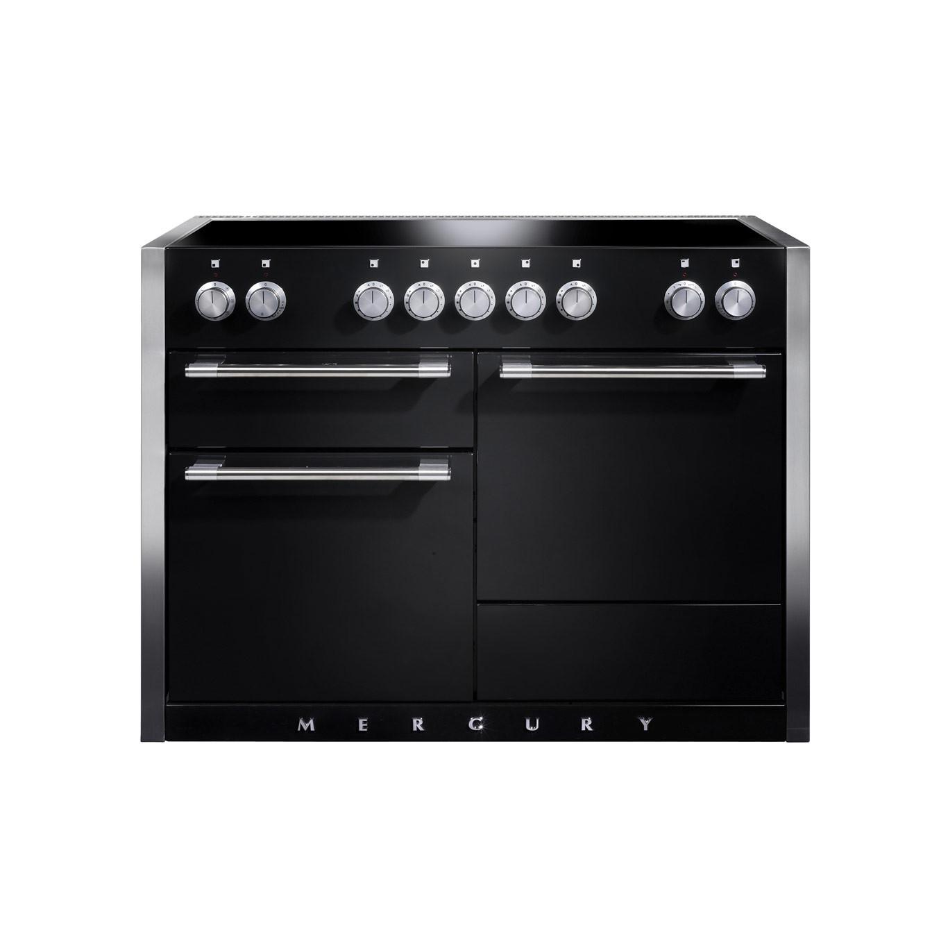 Mercury MCY1200EI Induction Ash Black Range Cooker