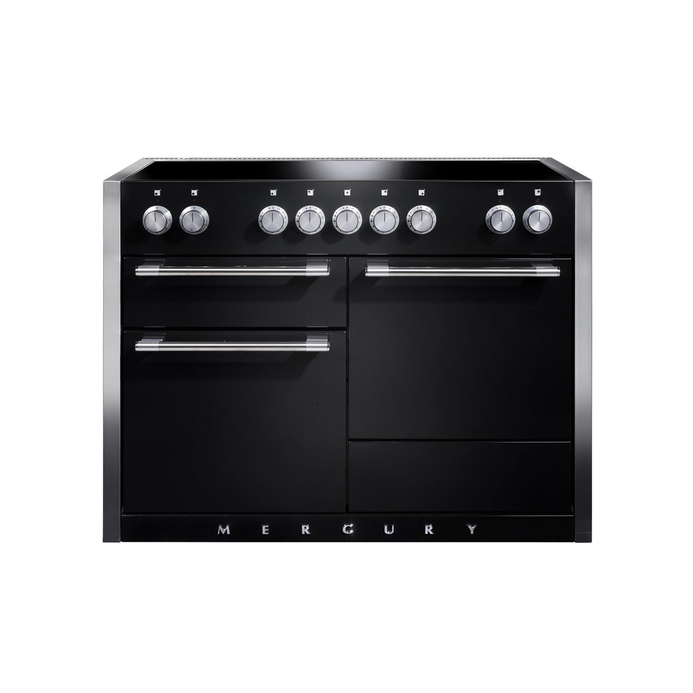 Mercury MCY1200EI Induction Liquorice Range Cooker