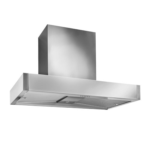 Mercury 1000 Slab Stainless Steel Canopy Hood