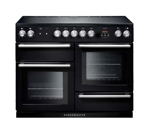 Rangemaster Nexus 110 Induction Black Range Cooker 104830