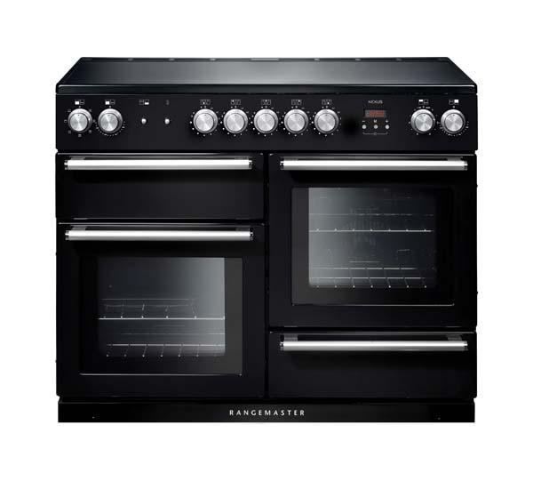 Rangemaster Nexus 110 Induction Black Range Cooker 104830