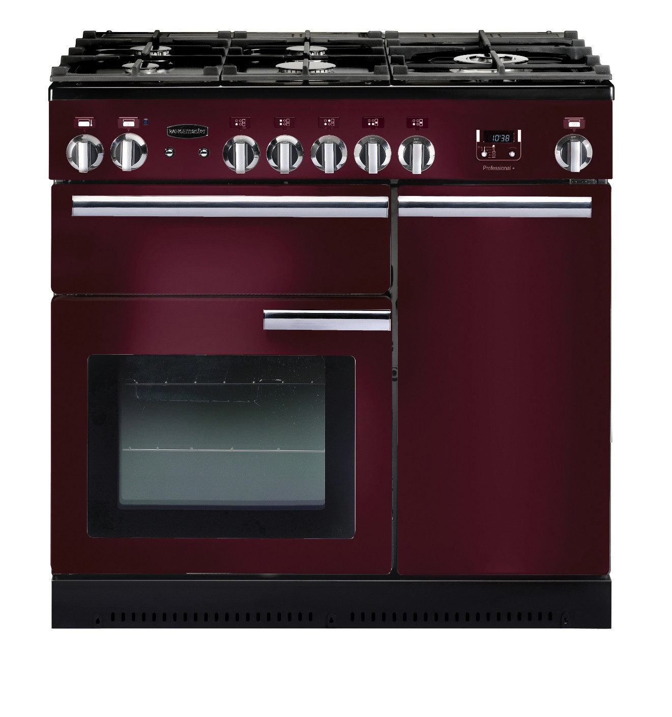 Rangemaster Professional Plus 90 Natural Gas Cranberry Range Cooker PROP90NGFCY/C 91940