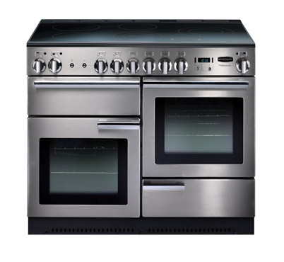 Rangemaster Professional Plus 110 Induction Stainless Steel Range Cooker PROP110EISS/C 85310