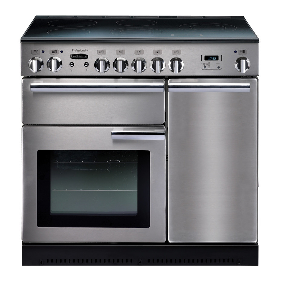 Rangemaster Professional Plus 90 Induction Stainless Steel Range Cooker PROP90EISS/C 85850