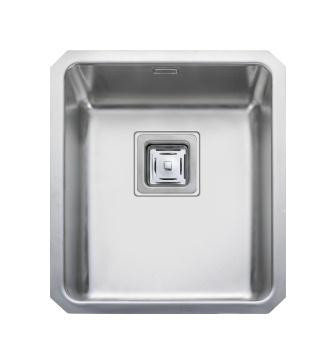 Quad U/M 340 x 400 1.0 Bowl REV S/Steel