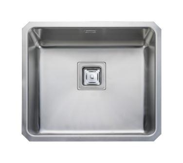 Quad U/M 480 x 400 1.0 Bowl REV S/Steel