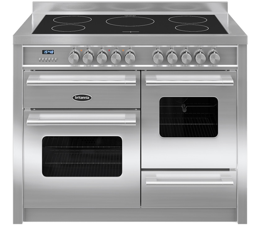 Britannia Delphi 110 XG - 5 Induction Zones Stainless Steel Range Cooker