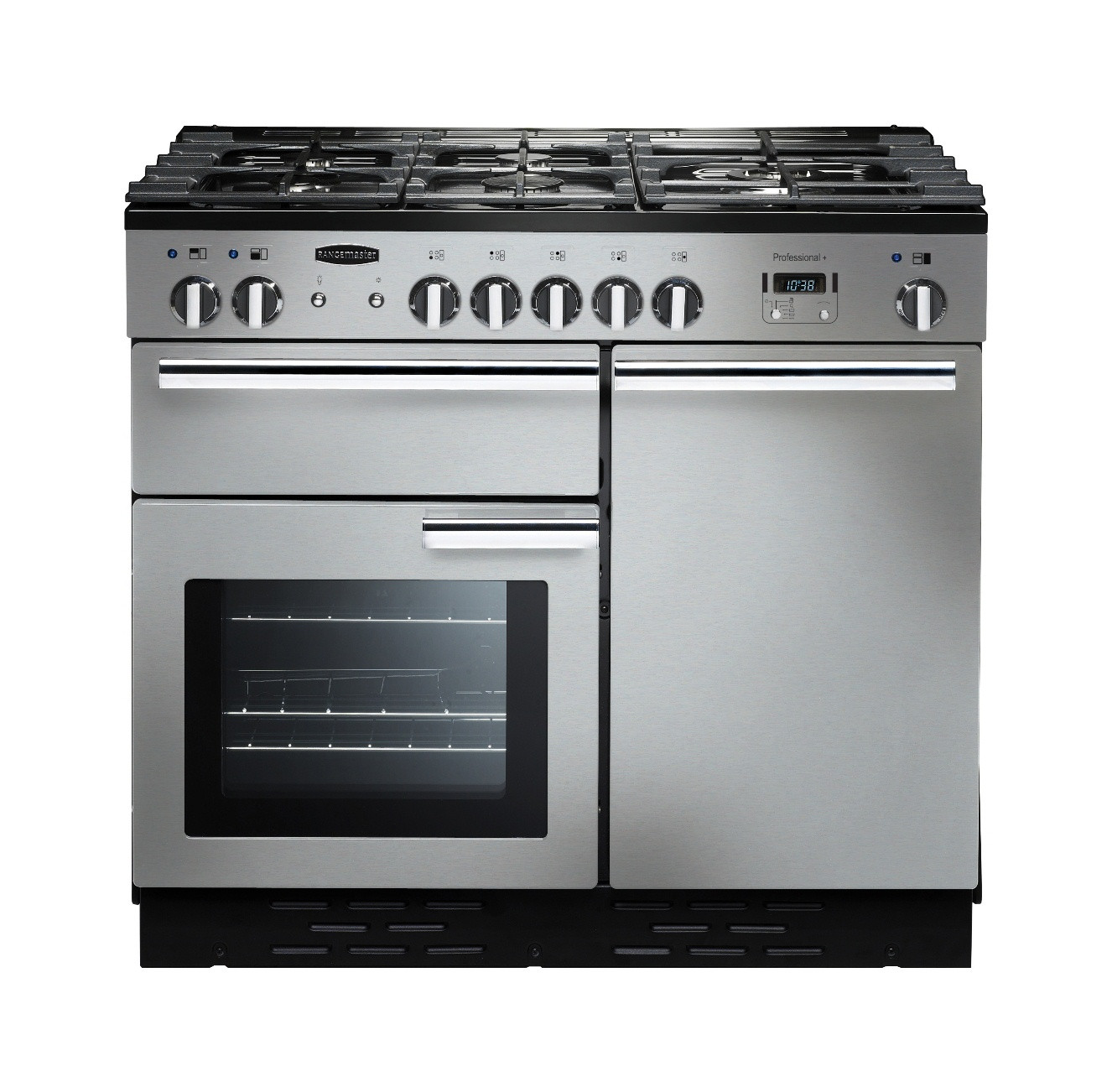 Rangemaster Professional Plus 100 Dual Fuel Stainless Steel Range Cooker PROP100DFFSS/C 92590