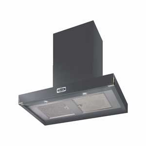 Falcon 900 Contemporary Slate Cooker Hood Nickel