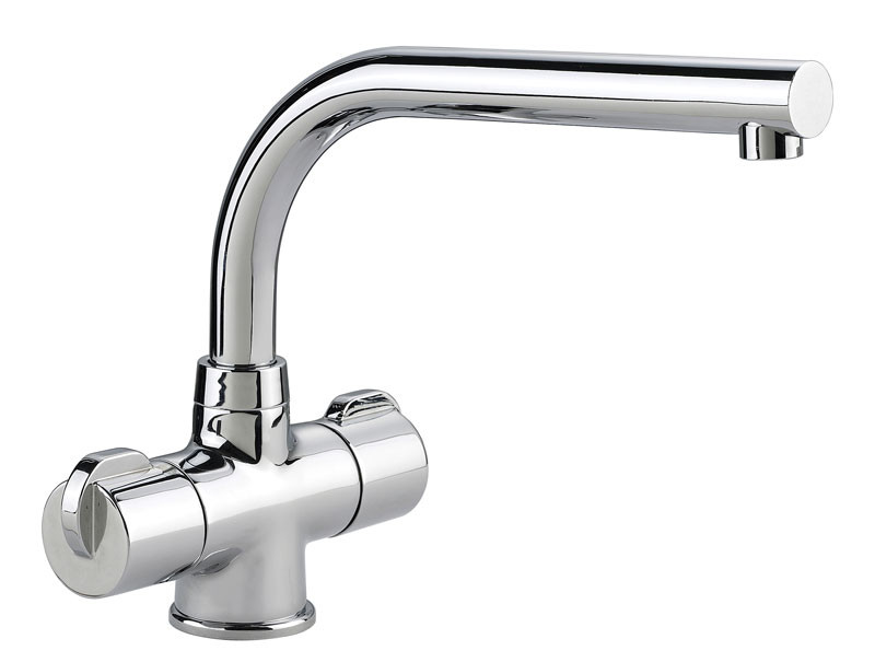 Rangemaster Aquadisc 3 Tap Chrome