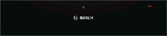 Bosch Black Electric Warming Drawer BIC630NB1B