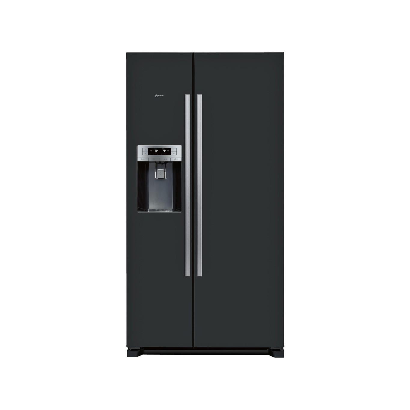 Neff N50 Black American Style Fridge Freezer KA3902B20G