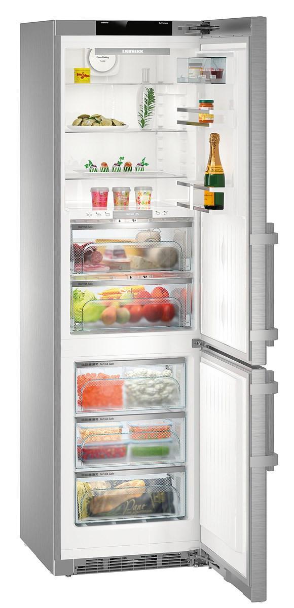 Liebherr CBNPes 4858 Premium Stainless Steel Fridge Freezer