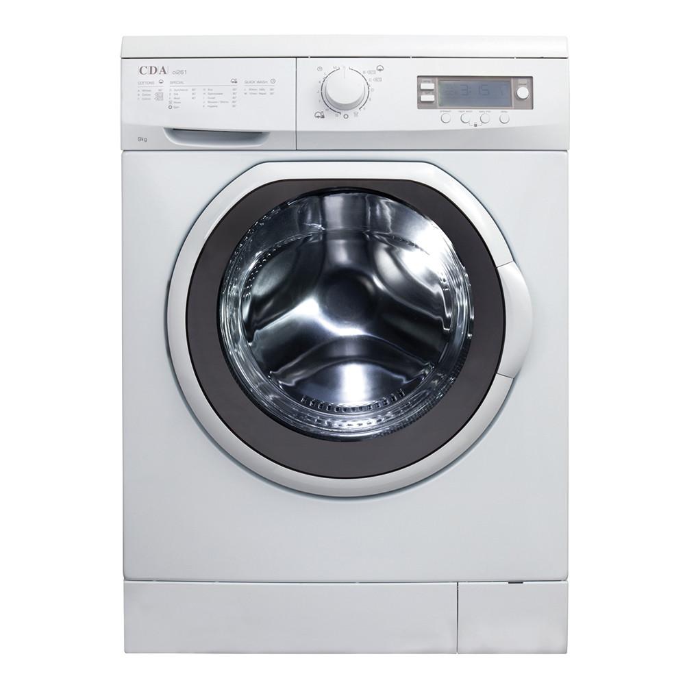 Buy the CDA Freestanding High Capacity White Washing Machine