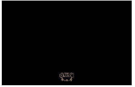 Rangemaster Classic 110cm Splashback Black with Brass Logo CLASP110BB/ 57380