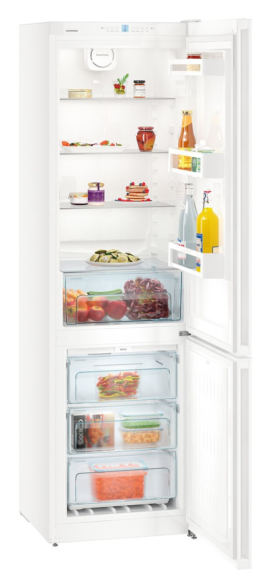 Liebherr CN4813 Freestanding NoFrost White Fridge Freezer
