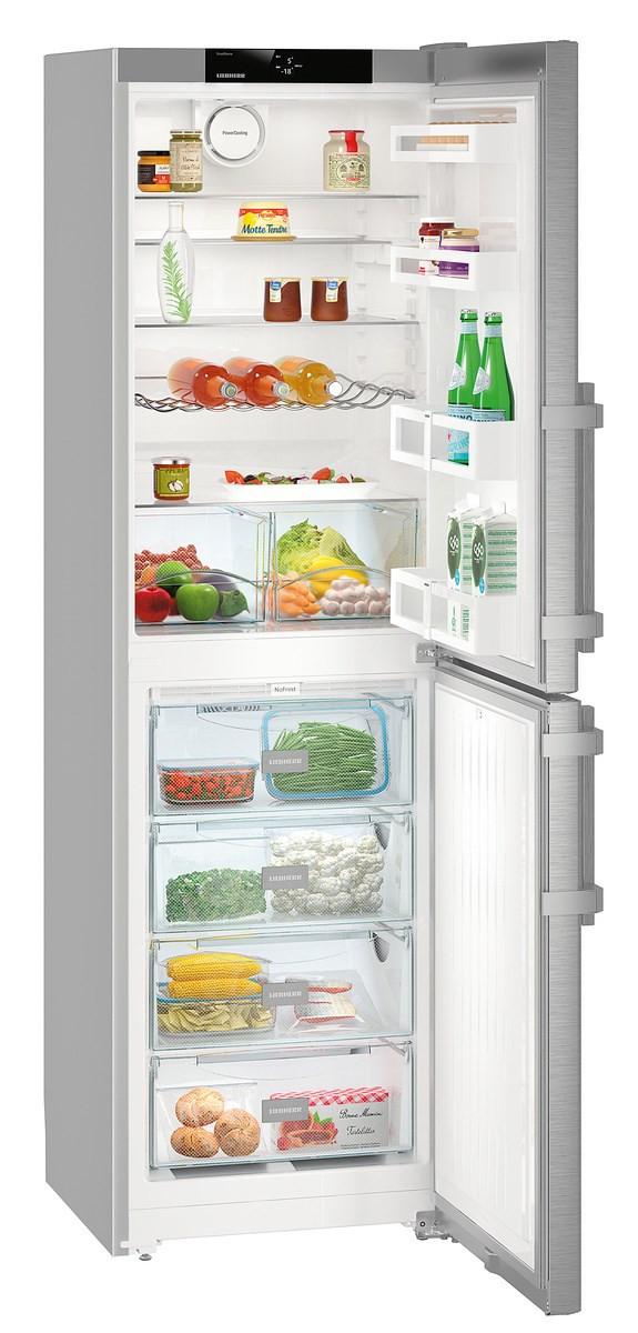 Liebherr CNef 3915 Comfort Silver Fridge Freezer