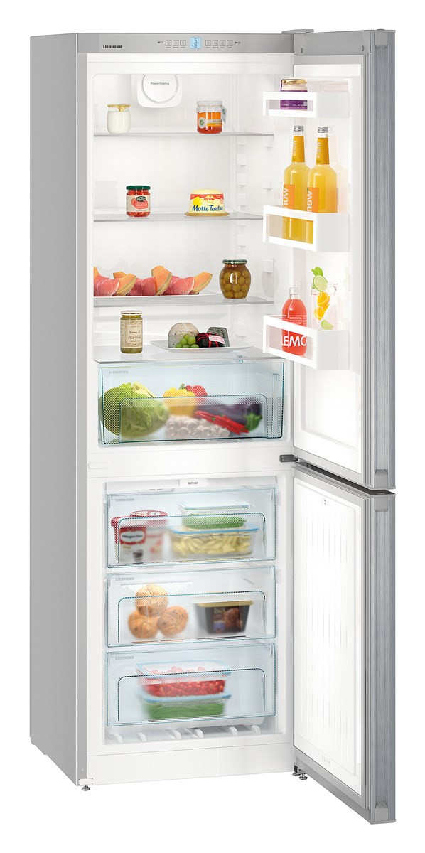 Liebherr CNel4313 Freestanding NoFrost Silver Fridge Freezer