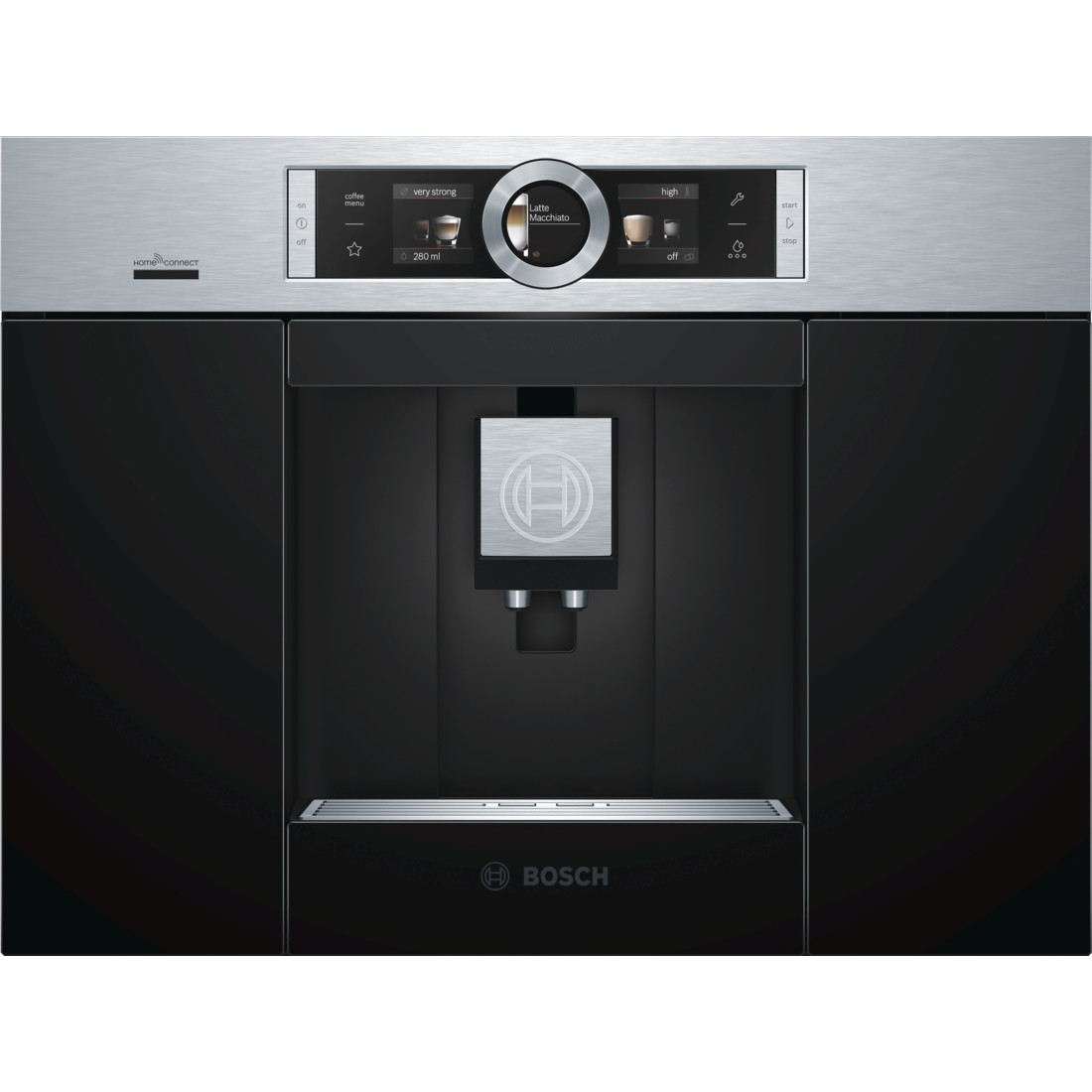 Bosch CTL636ES6 Stainless Steel Fully Automatic Bean-to-Cup Coffee Centre