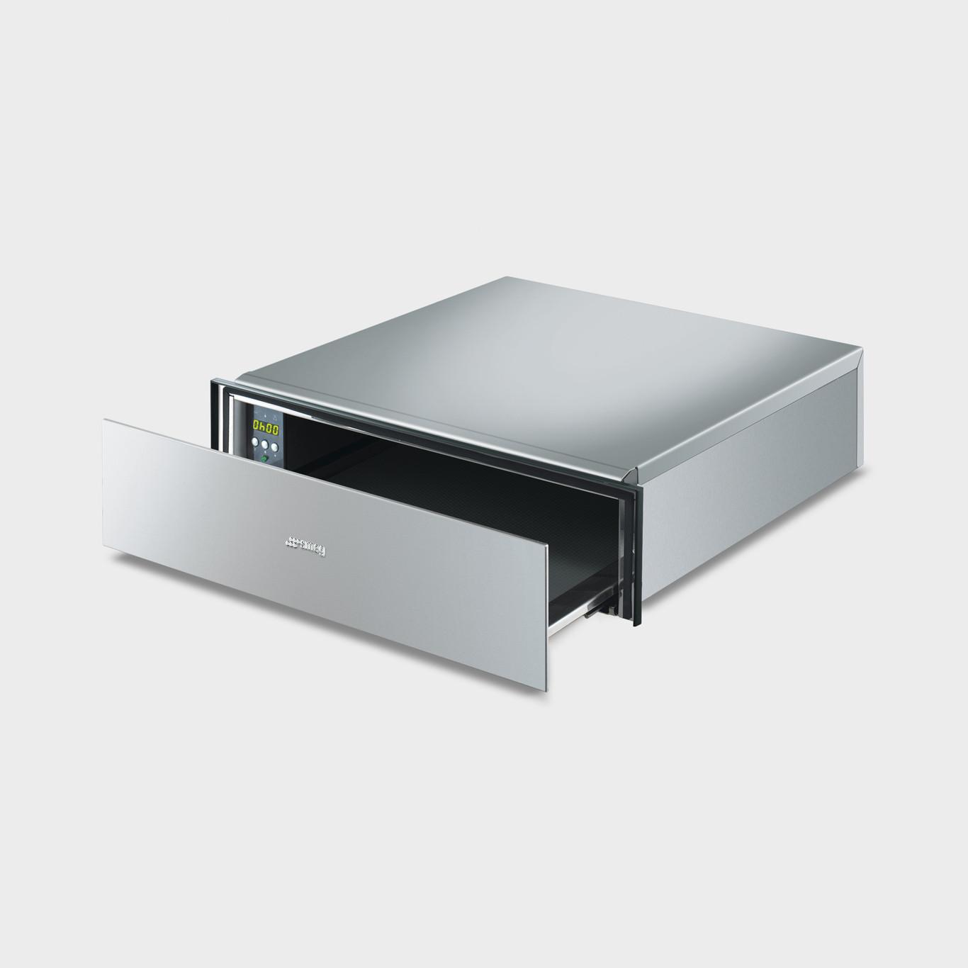 Smeg CTP15X Cucina 15cm Stainless Steel Warming Drawer