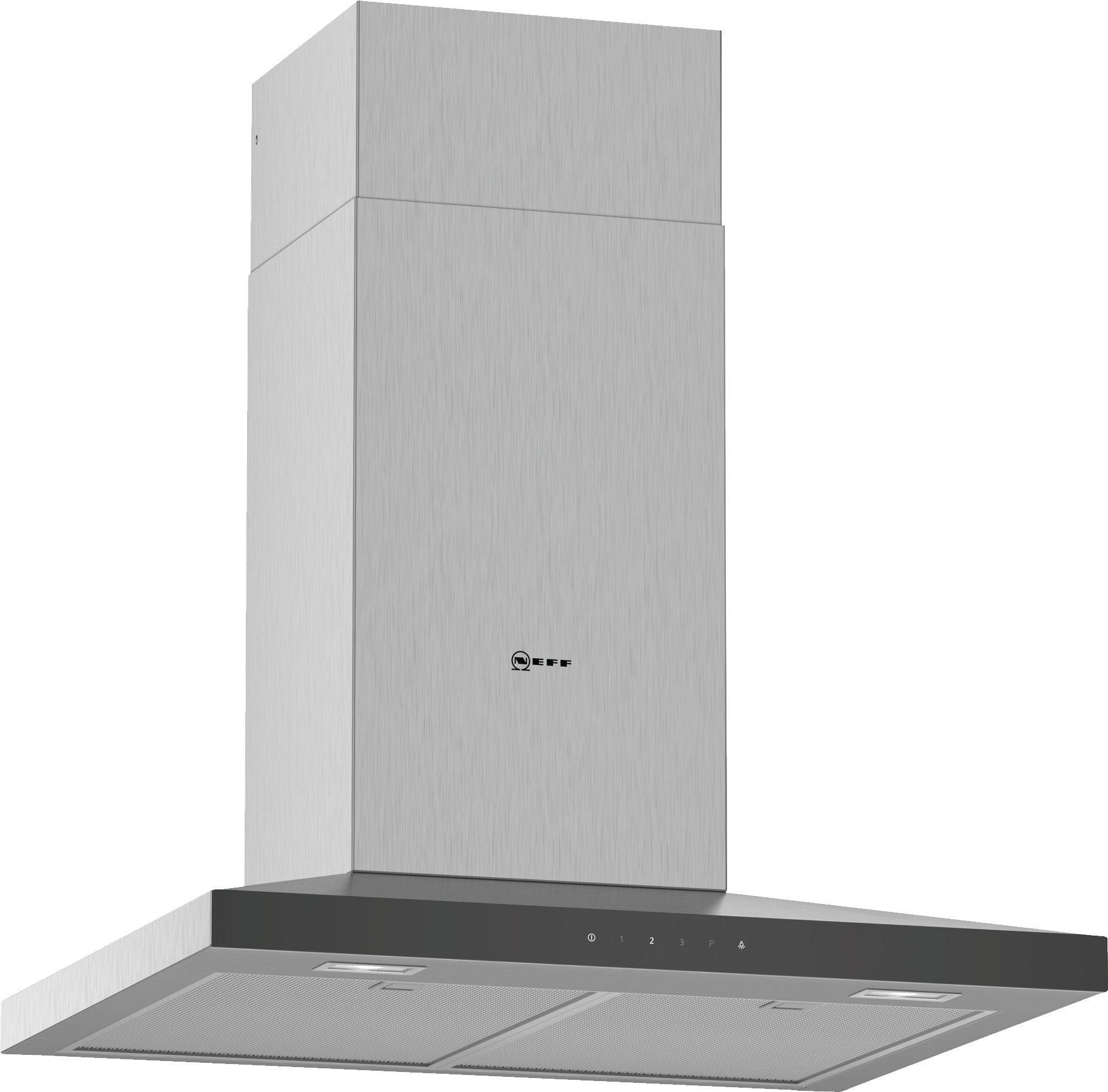 Neff N50 60cm Stainless Steel Pyramid Chimney Hood D64QFM1N0B