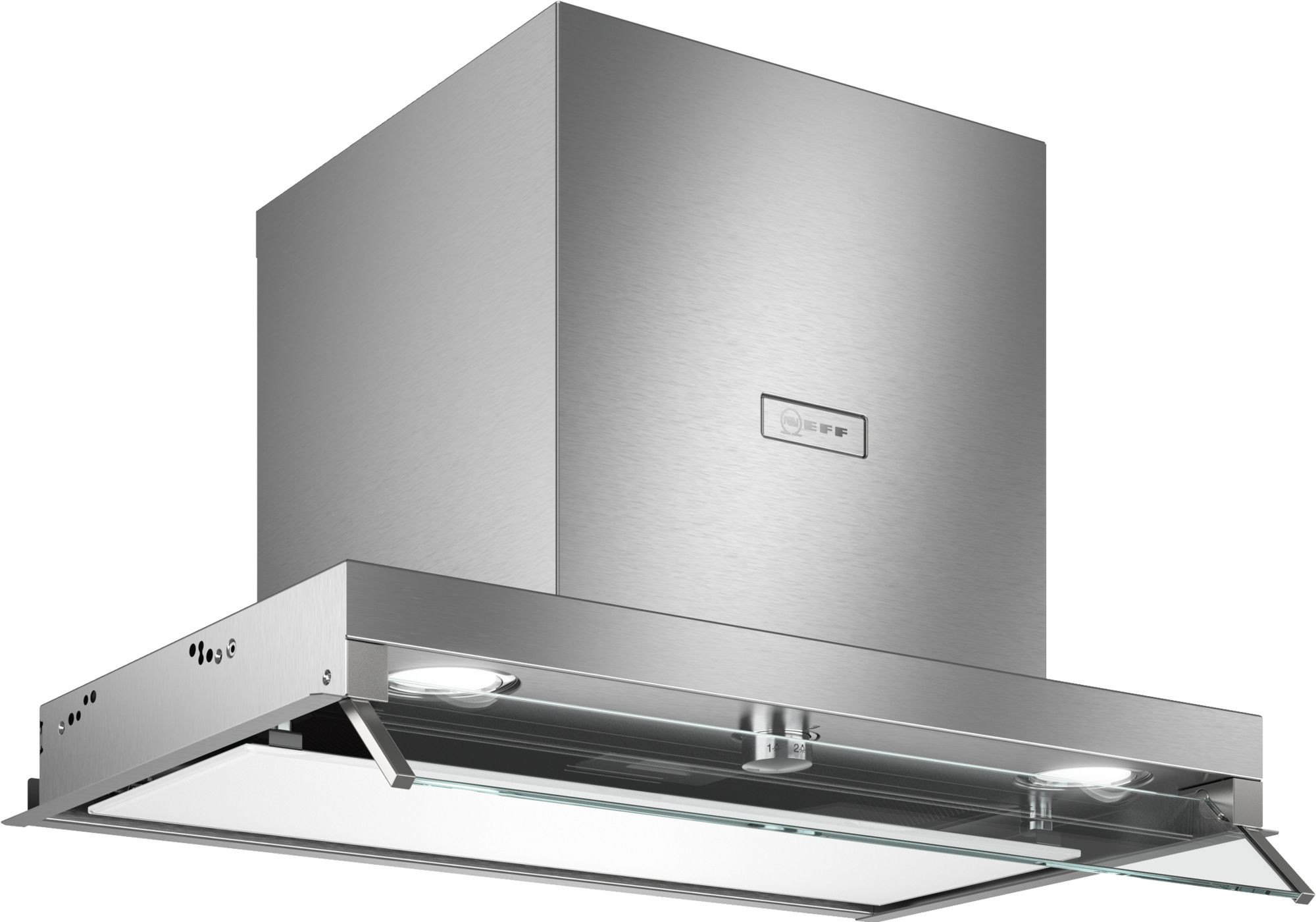 Neff N70 60cm Clear Glass Canopy Hood D64XAF8N0B