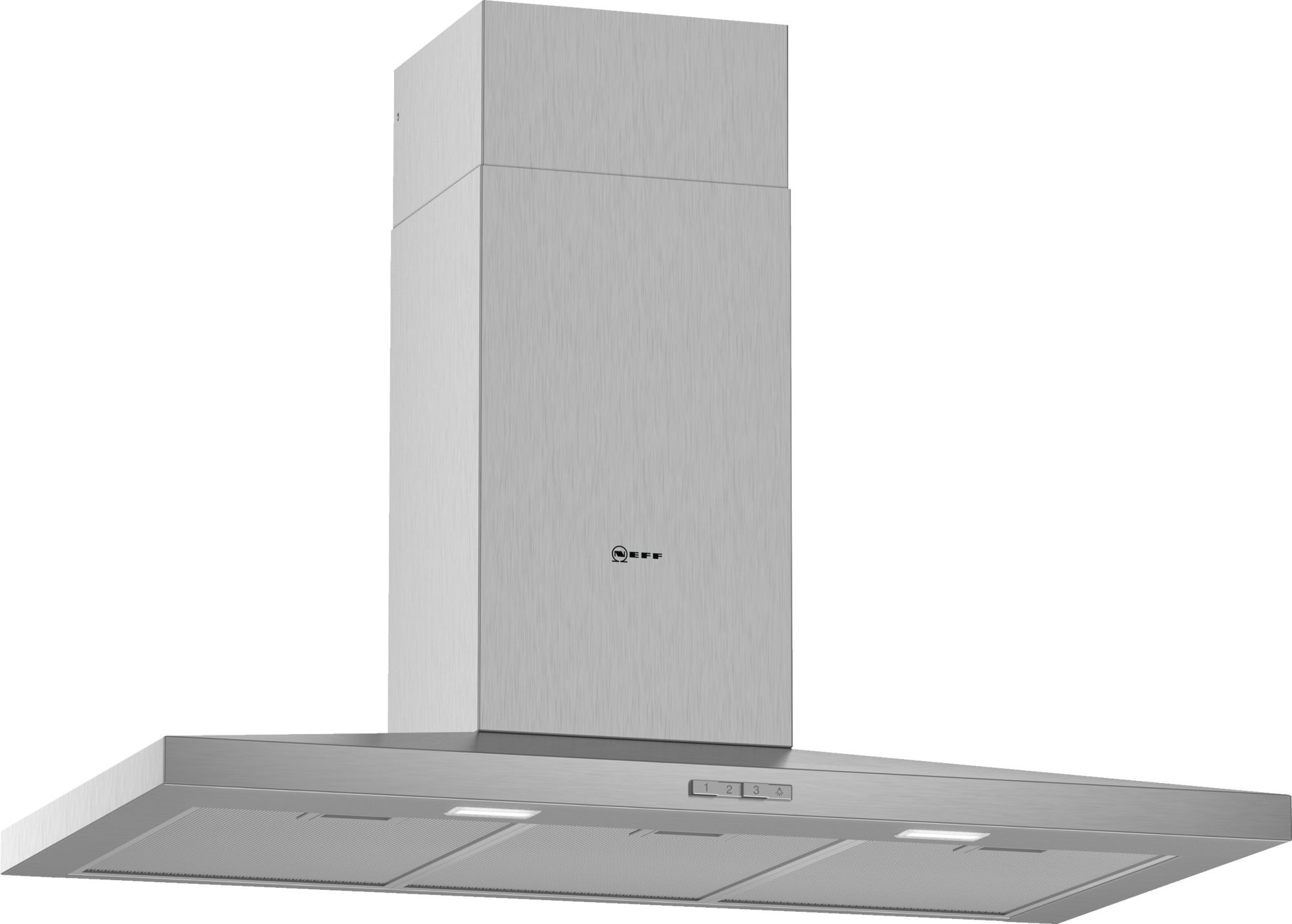 Neff N30 90cm Stainless Steel Pyramid Chimney Hood D92QBC0N0B