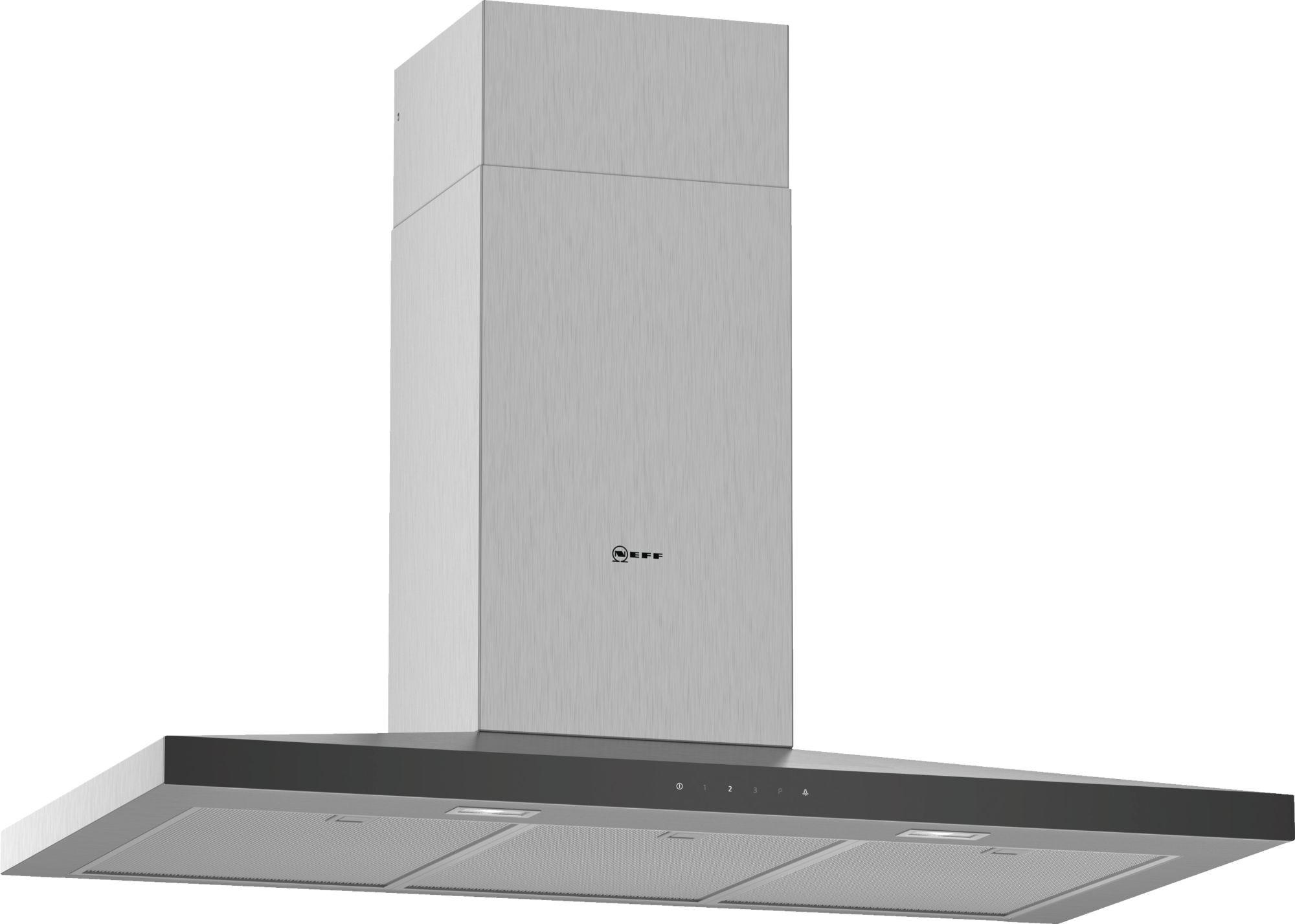 Neff N50 90cm Stainless Steel Pyramid Chimney Hood D94QFM1N0B