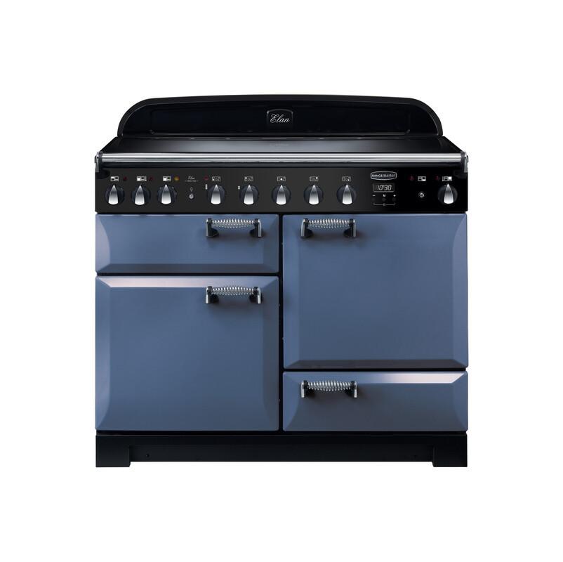 Rangemaster Elan Deluxe 90 Induction Stone Blue Range Cooker ELA90EISB/ 125770