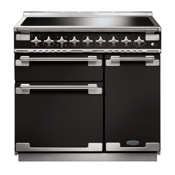 Rangemaster Elise 90 Induction Gloss Black Range Cooker 10787