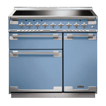 Rangemaster Elise 90 Induction China Blue Range Cooker ELS90EICA/ 107890