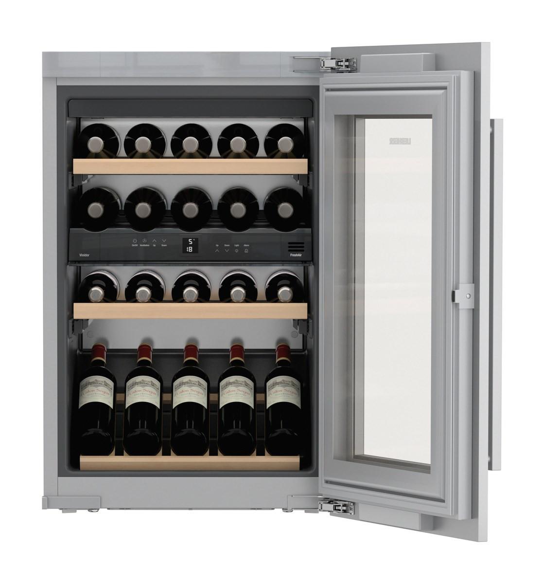 Liebherr EWTdf1653 Vinidor Stainless Steel Built-In Wine Cooler