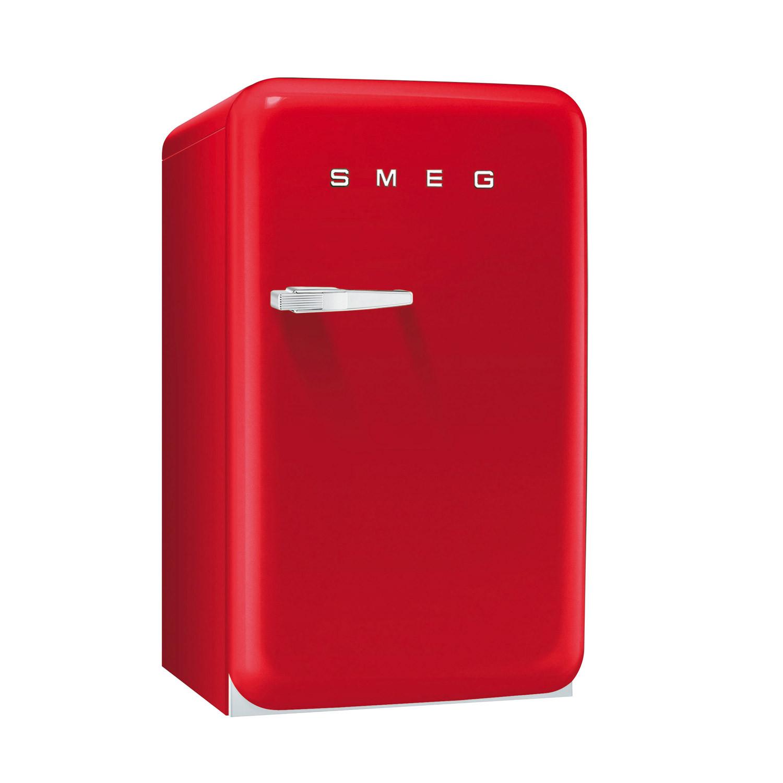 Smeg FAB10RR 50's Retro Style Red Fridge with Ice Box