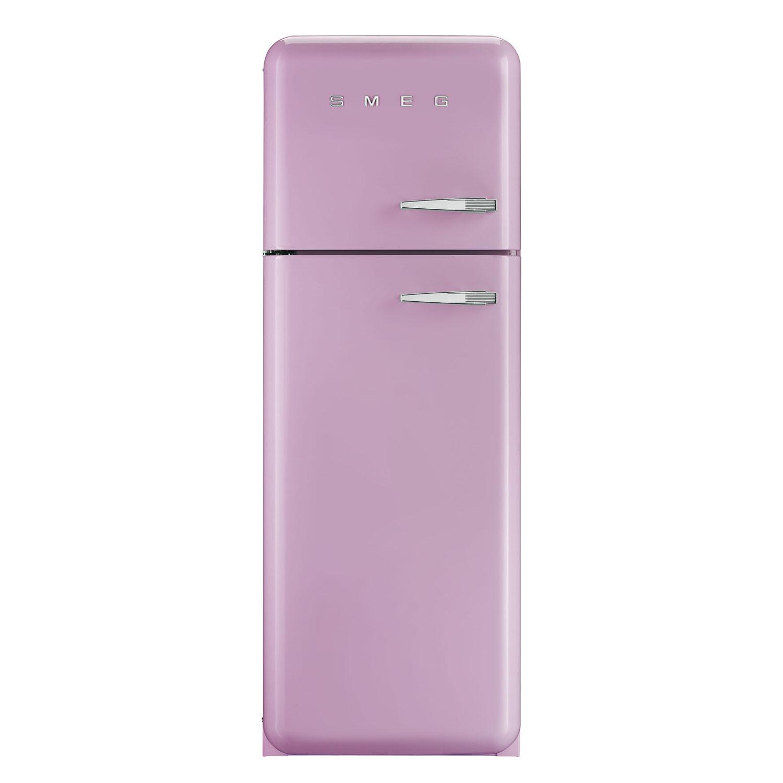 Buy Smeg Fab30lfp 50 39 S Retro Style Pink Fridge Freezer