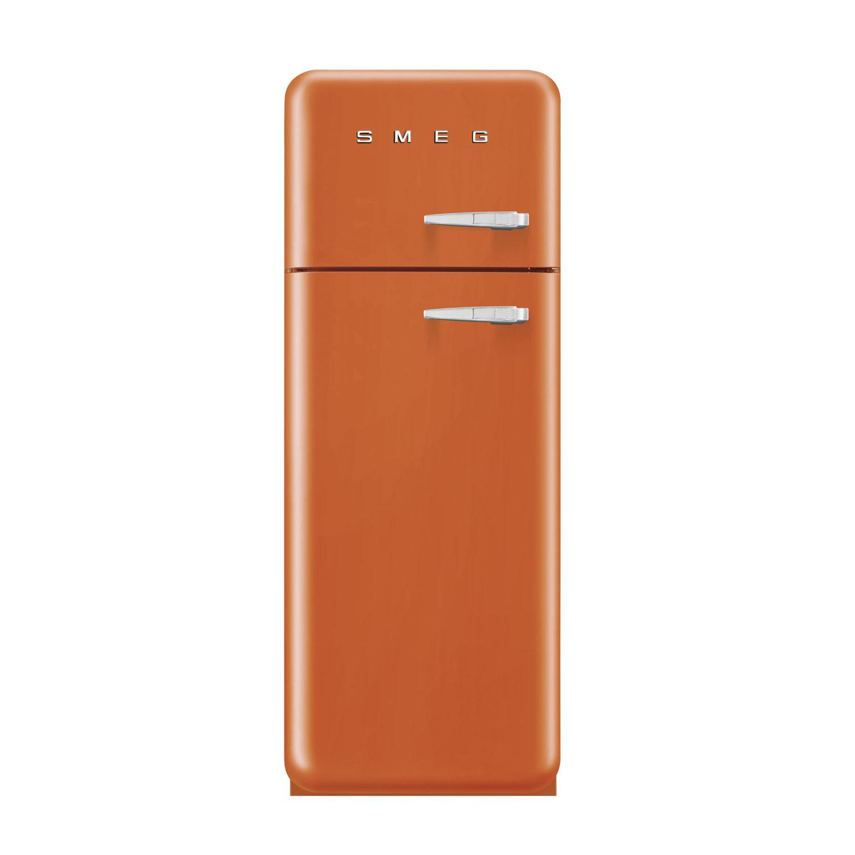 Smeg FAB30LFO 50's Retro Style Orange Fridge Freezer