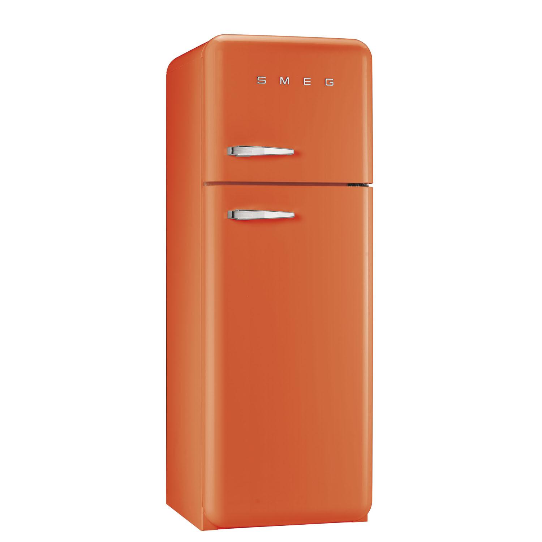 Smeg FAB30RFO 50's Retro Style Orange Fridge Freezer