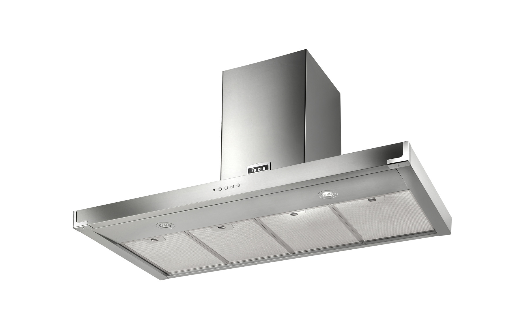 Falcon 110cm Super Flat Hood Stainless Steel Chrome 92920 FHDSF1100SS/C