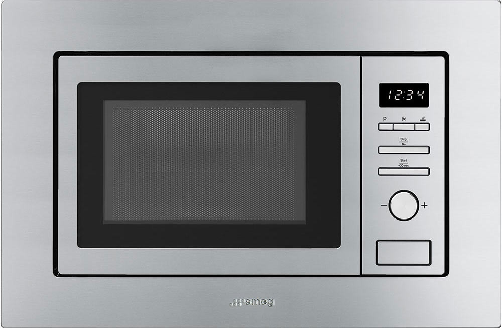 Smeg Microwave Oven with Electric Grill FMI020X