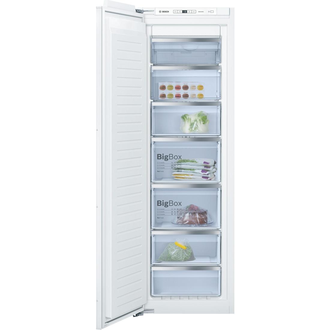 Bosch GIN81AE30G 177 Tall Built-in Freezer