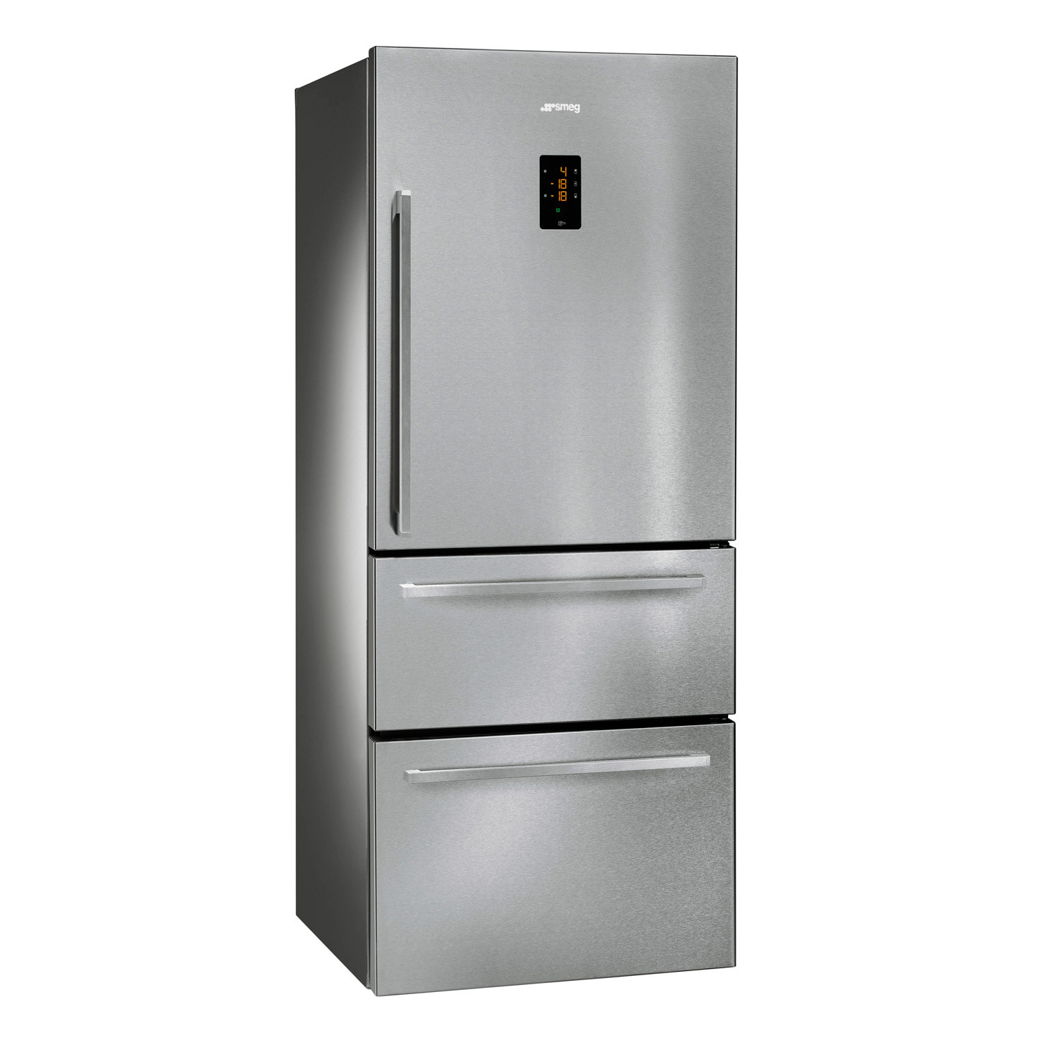Smeg FT41BXE Stainless Steel 530 Litre A+ Rated Fridge Freezer