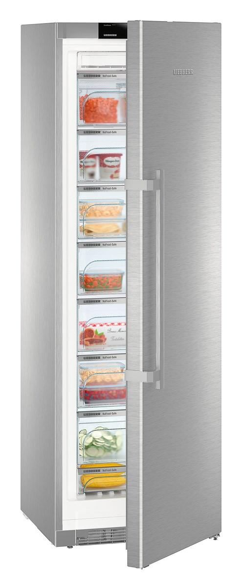 Liebherr GNPes 4355 Premium NoFrost Stainless Steel Freezer