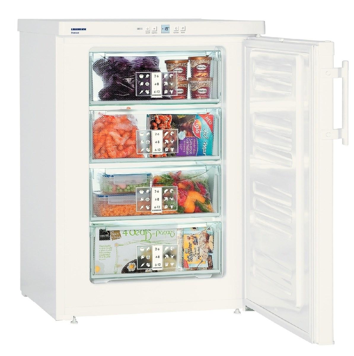Liebherr GP 1486 Premium SmartFrost White Freezer