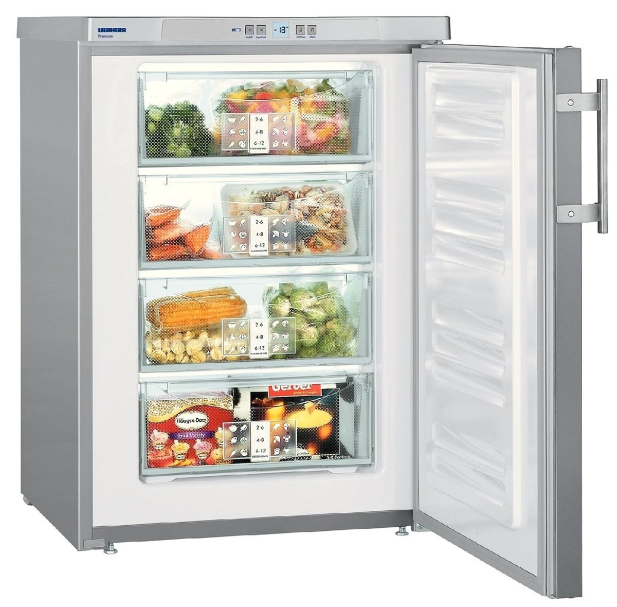 Liebherr GPesf 1476 Premium SmartFrost Silver Freezer