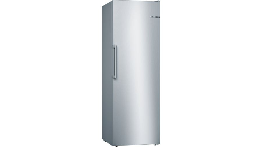 Bosch Serie 4 GSN33VL3P No Frost Freestanding Stainless Steel Upright Freezer