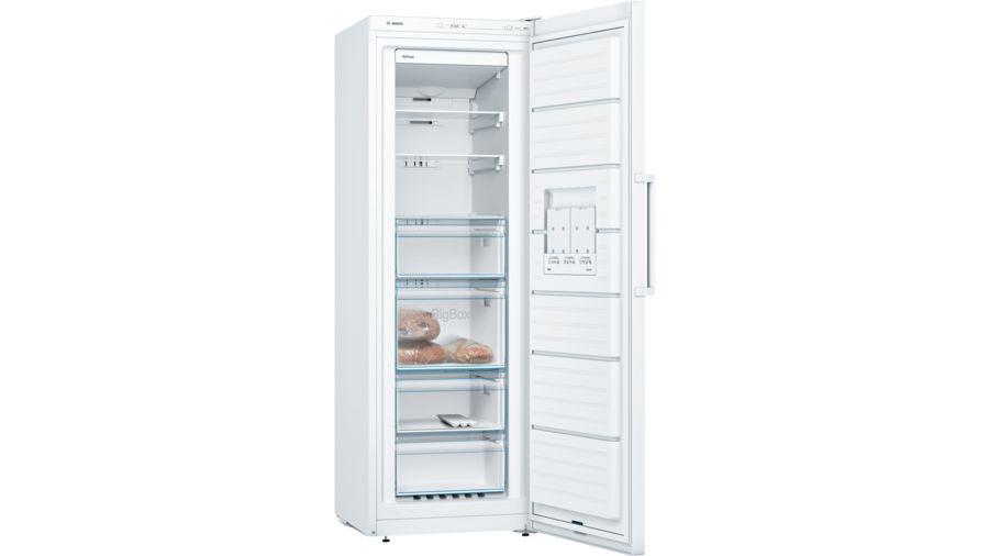 Bosch Serie 4 GSN33VWEPG No Frost Freestanding White Upright Freezer