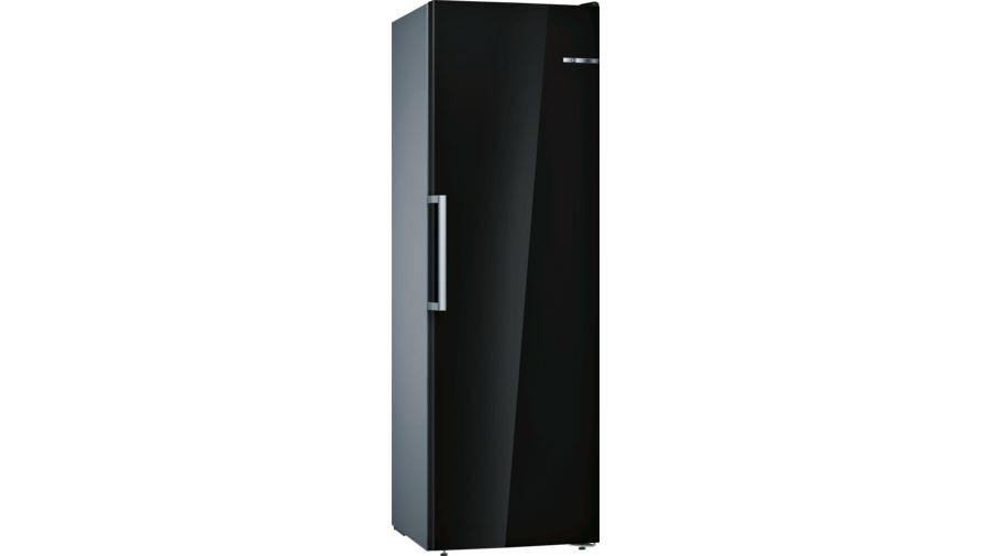 Bosch Serie 4 GSN36VB3PG No Frost Freestanding Black Upright Freezer